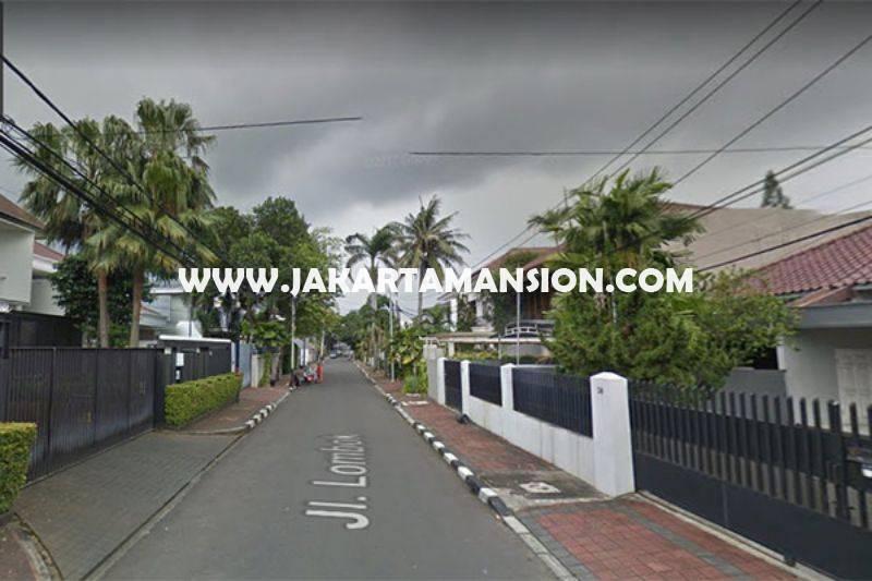 Rumah Jalan Lombok Menteng Dijual Murah hitung tanah Luas 719m Kotak