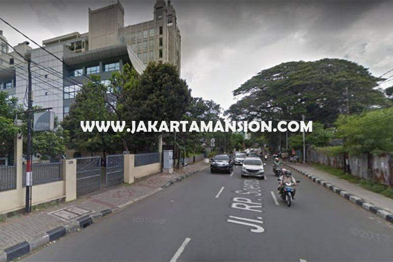 Dijual Murah Gedung 4 Lantai jalan Raya RP Soeroso Menteng tanah Kotak