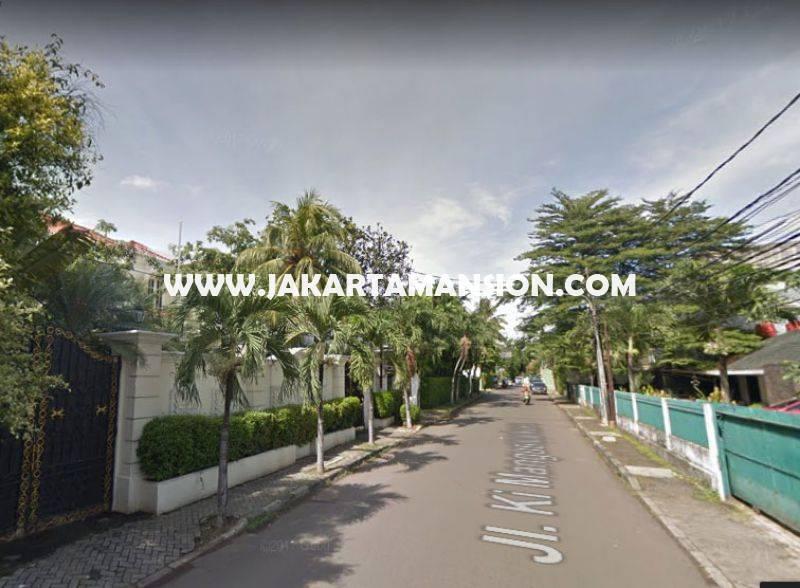 Rumah Jalan Ki Mangun sarkoro Menteng Dijual Murah Hitung Tanah bentuk Kotak