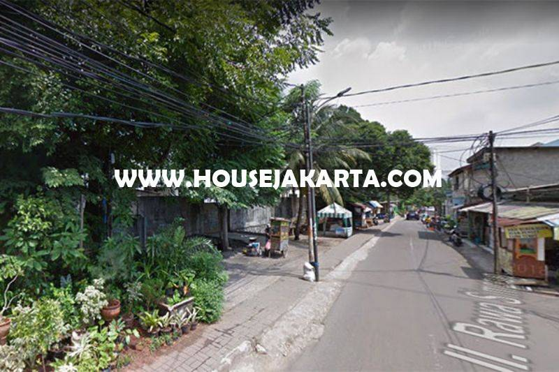 Tanah Jalan Rawa Simprug Permata Hijau Luas 3.150m Dijual Murah 20 Juta/m