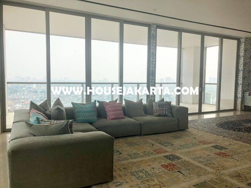 Penthouse Apartement Dharmawangsa Residence Tower Baru 2 Lantai Dijual Murah