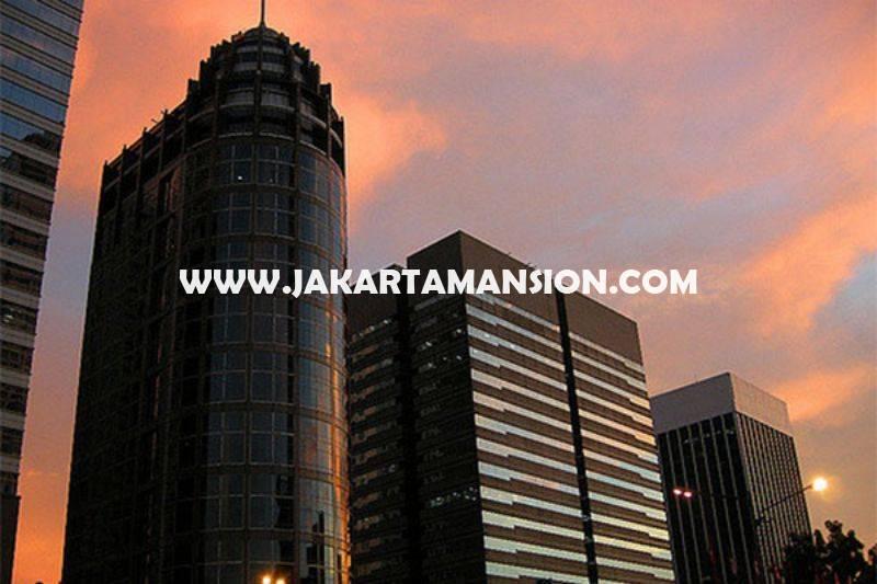OS965 Dijual Kantor Digedung Menara Sudirman luas 436m View City Senayan Siap Pakai