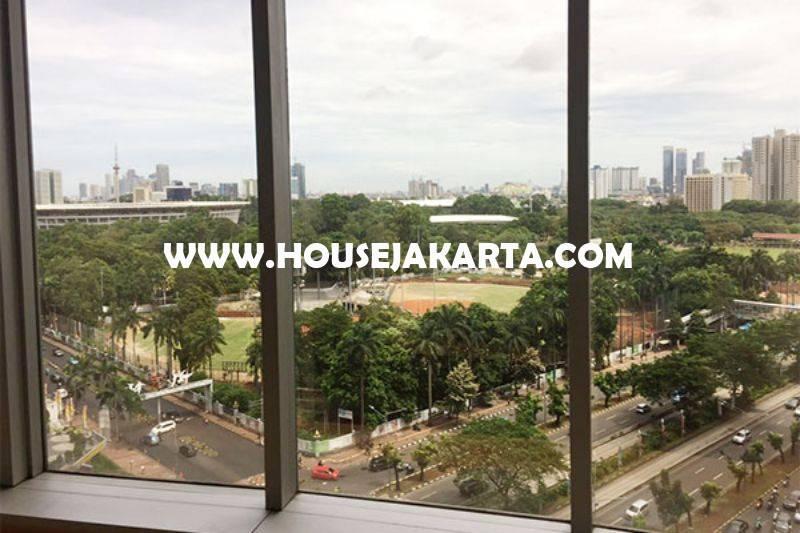 Dijual Kantor Digedung Menara Sudirman luas 436m View City Senayan Siap Pakai