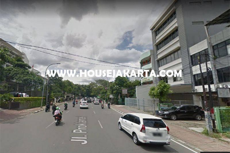 Rumah tua hitung tanah Jalan Proklamasi Menteng ijin komersial Gedung 7 Lantai Dijual Murah
