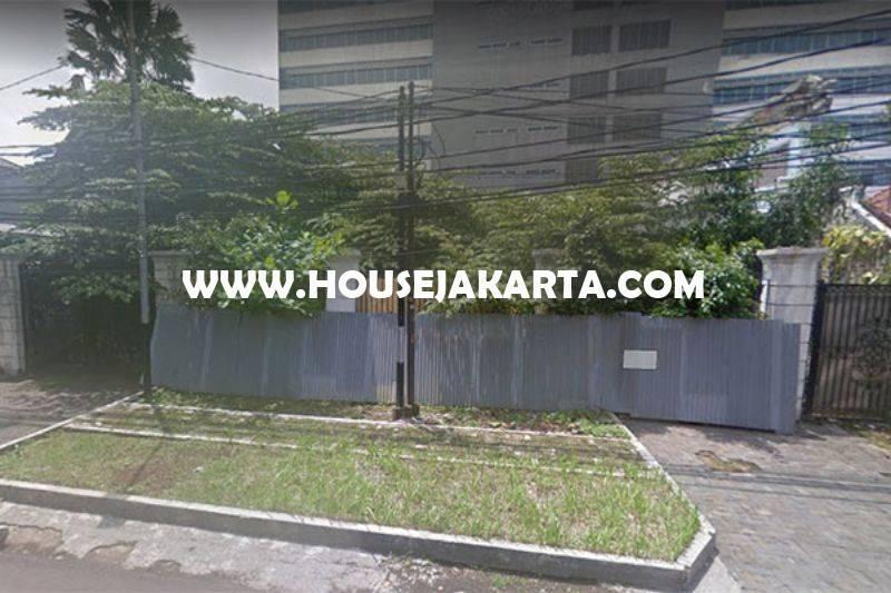 Tanah Jalan Tirtayasa Senopati Kebayoran Baru dekat SCBD Sudirman Dijual Murah 68 juta/m