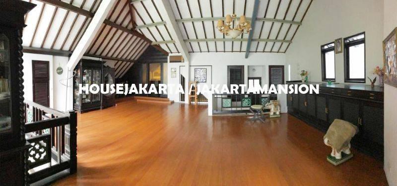 HR1256 House for Rent sewa lease at Pondok Indah close to JIS