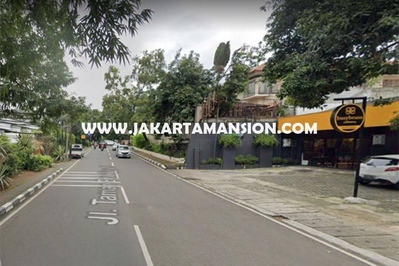 HS1462 Rumah Jalan Taman Brawijaya 3 Kebayoran Baru luas tanah 943m Dijual Murah 39M