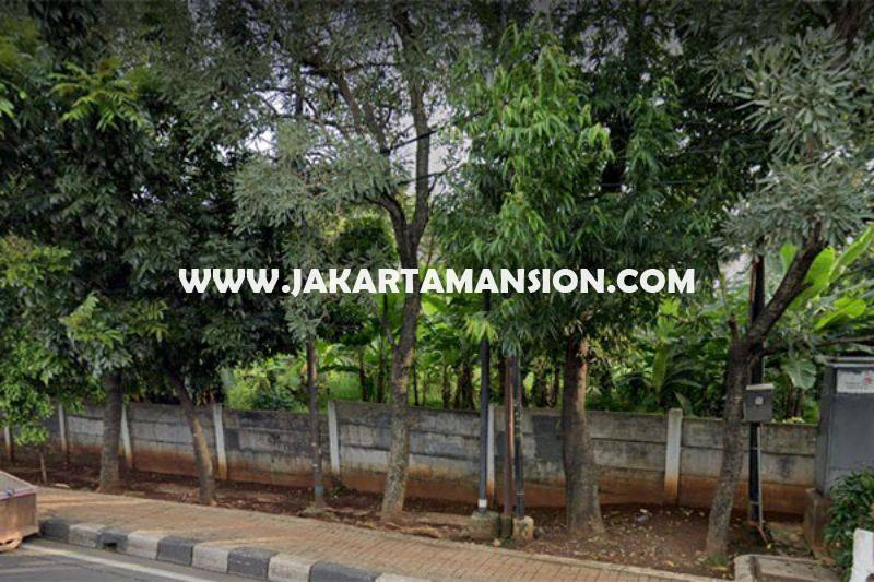 LS1493 Tanah Komersial Jalan TB Simatupang Dijual Murah Seberang Gedung Trakindo ijin bisa 24 Lantai
