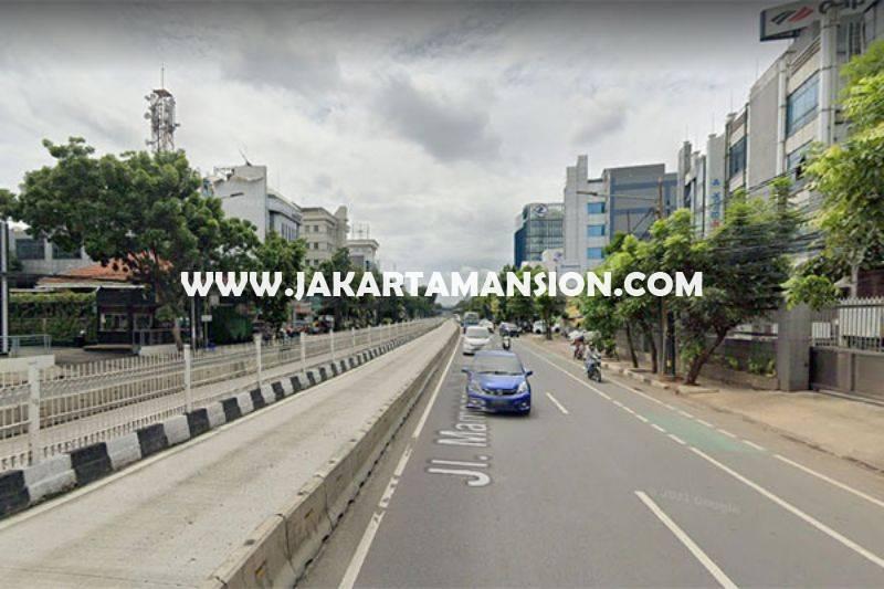 LS1503 Tanah Komersial Jalan Mampang Prapatan Raya Dijual Murah Harga NJOP ijin Gedung